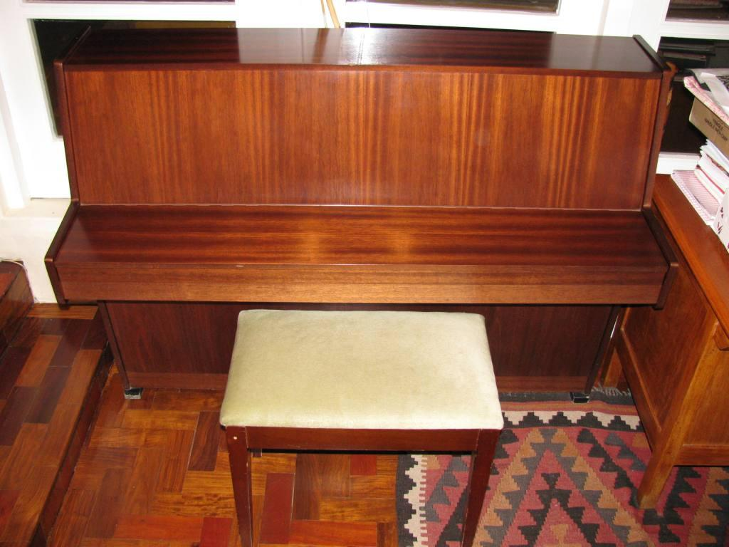 No 37 Zimmerman Piano & Stool  -  R480.00 per month